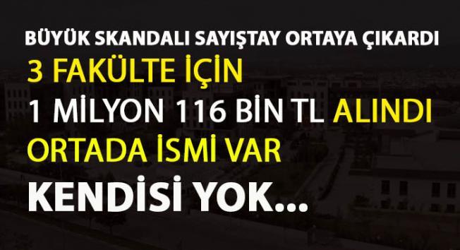 Bursa Teknik Üniversitesi'nde ödenek skandalı