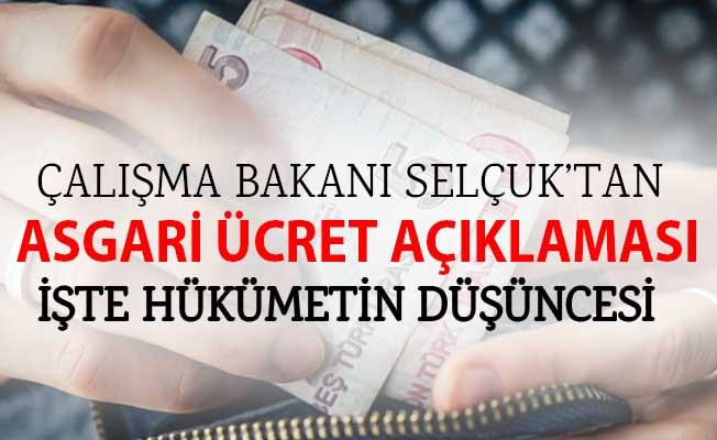 Çalışma Bakanı Selçuk'tan Bütçe Görüşmelerinde Asgari Ücret Açıklaması