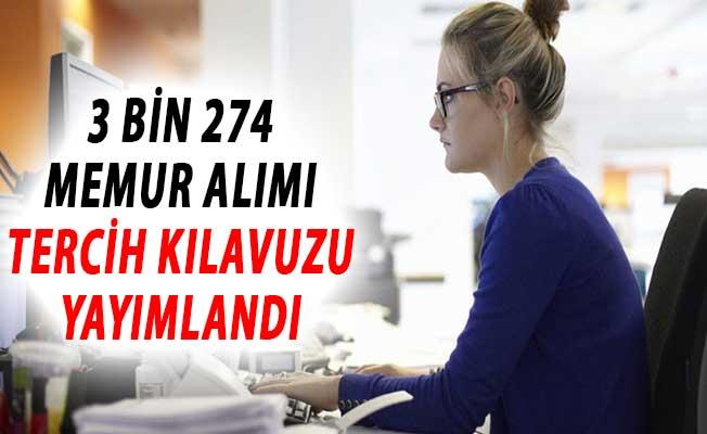 Çalışma Bakanlığı 3 Bin 274 Memur Alımı Tercih Kılavuzu Yayımlandı