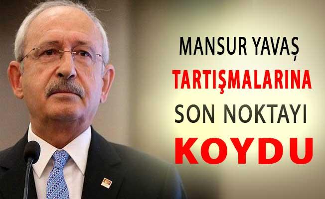 CHP Lideri Kılıçdaroğlu Mansur Yavaş Tartışmalarına Noktayı Koydu !