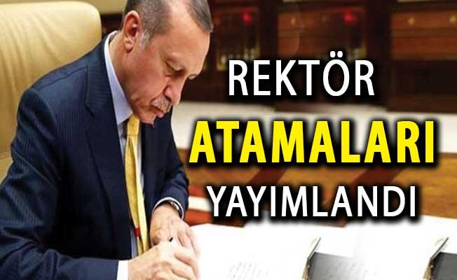 Cumhurbaşkanı Erdoğan'dan Rektör Ataması ! Karar Resmi Gazete'de Yayımlandı