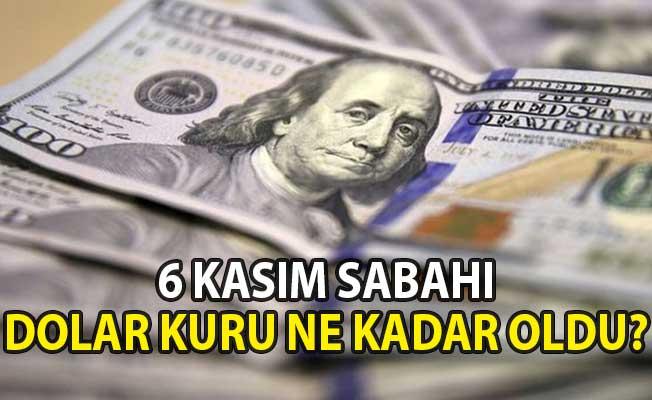 Dolar Kaç TL Oldu? Dolar Kurunda Son Durum (6 Kasım 2018 Döviz Kuru)