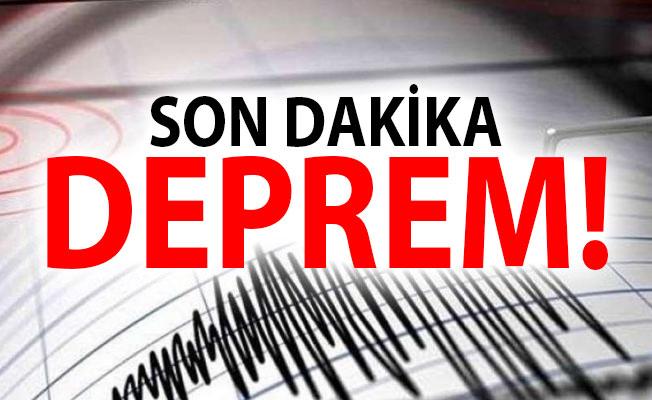 Ege'de son depremler korkuttu. İzmir Karaburun Depremle sallandı