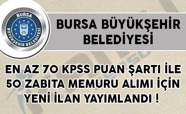 En Az 70 KPSS Puan Şartı İle 50 Zabıta Memuru Alımı İçin Yeni İlan Yayımlandı!