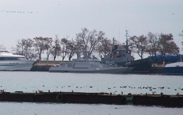 """FSB, Ukraynalı denizcilerin eline geçen """"belgeleri"""" gösterdi"""
