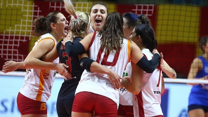 Galatasaray Aydın Büyükşehir Belediyespor'u 3-0 yendi