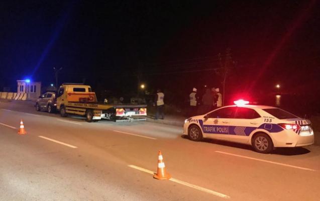 Giresun'da durdurulmak istenen araç polislere çarptı- 1 polis şehit oldu
