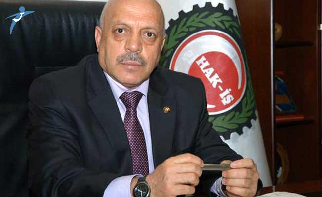 Hak İş Başkanı Mahmut Arslan: Hükümete Çağrımız Asgari Ücret Makul Oranda Artırılsın