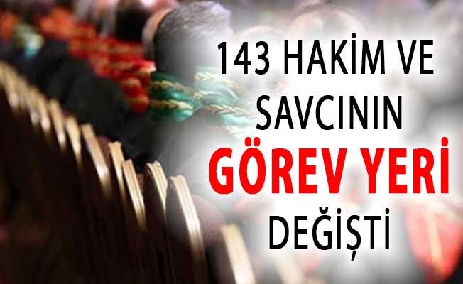 HSK'dan Flaş Karar ! 143 Hakim ve Savcının Yeri Değiştirildi