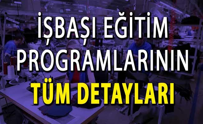 İŞKUR İşbaşı Eğitim Programları Desteğinin Tüm Detayları