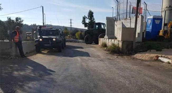 İsrail, Salfit yakınlarındaki geniş araziye el koydu