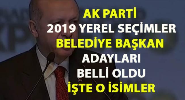 AKP Belediye Başkan Adayları- Tam Liste