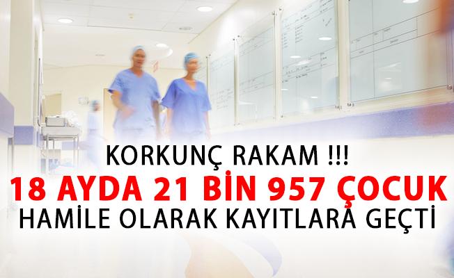 Korkunç Rakam! 18 Ayda 21 Bin 957 Çocuk Hamile Olarak Kayıtlara Geçti