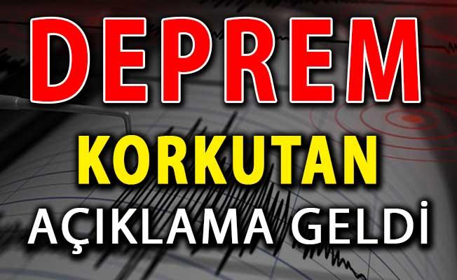 Korkutan Açıklama: Marmara İçin Büyük Deprem Bekleniyor (Ciddi Gerilim Var)