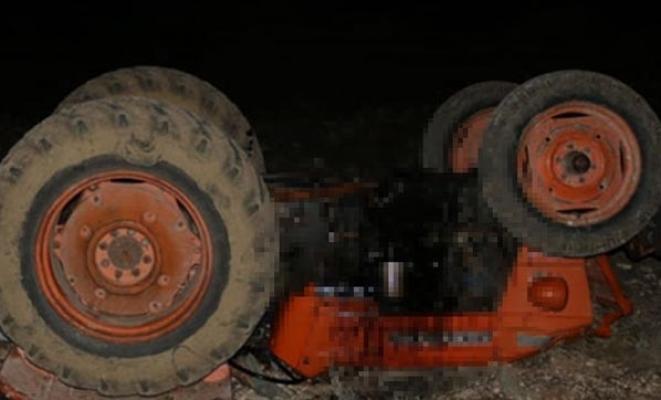 Manisa'da Korkunç Kaza! Devrilen Traktörün Altında Feci Şekilde Can Verdi
