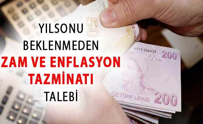 Memurlar Dikkat ! Yılsonu Beklenmeden Zam ve Enflasyon Tazminatı Talebi