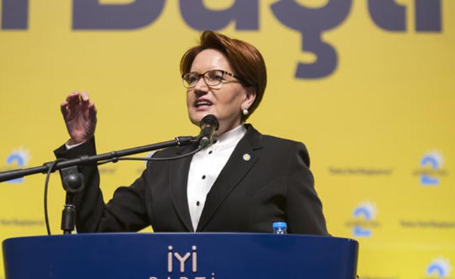 Meral Akşener: Kriz Sarayı Teğet Geçmiş