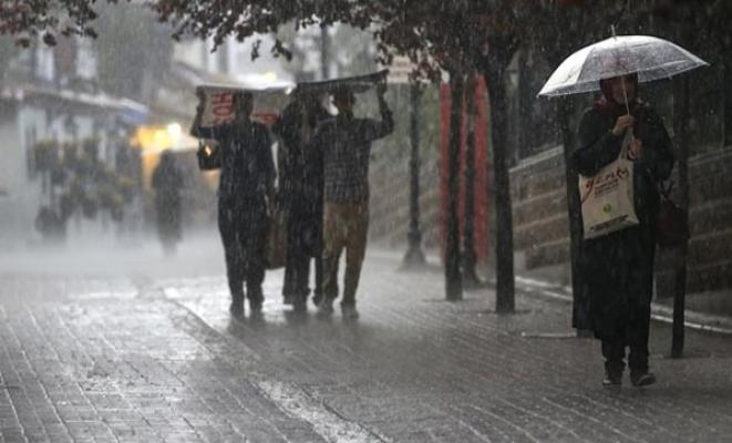 Meteoroloji Son Dakika sağanak yağış uyarısı