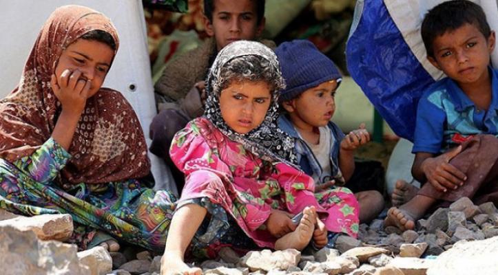 Dünya Sağlık Örgütü (DSÖ) Yemen'deki çocuklar insani yardıma muhtaç olduğunu duyurdu