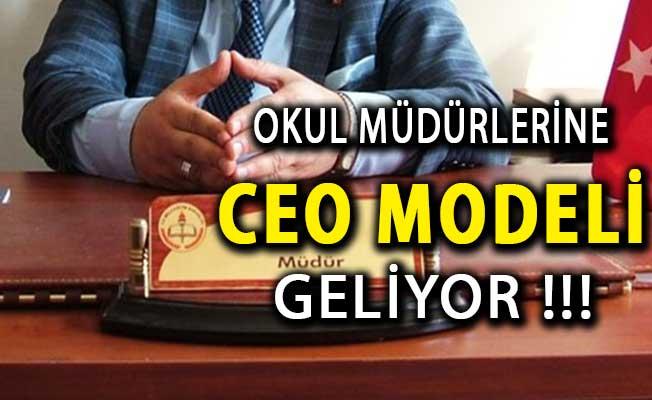 Okul Müdürlerine CEO Modeli Geliyor ! 81 Bin Yönetici Sınava Alınacak