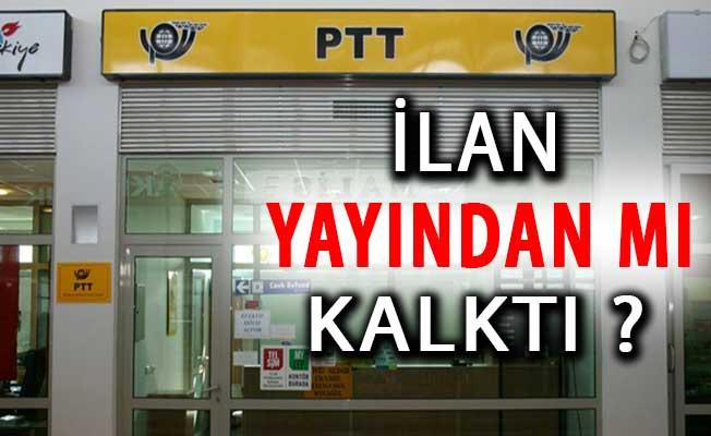 PTT 1100 Personel Alımı Yayından Mı Kalktı? PTT Personel Alımı Hakkında Tüm Detaylar
