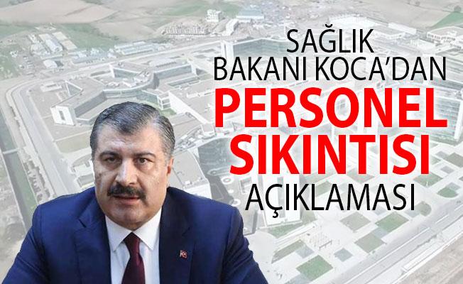 Sağlık Bakanı Fahrettin Koca'dan Şehir Hastaneleri İçin Personel Sıkıntısı Açıklaması