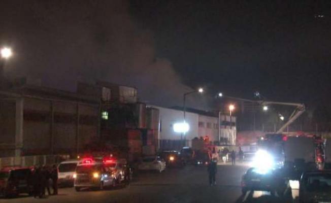 Son Dakika Fabrika Yangın Haberleri- İstanbul Tuzla'da Boya fabrikasında Yangın
