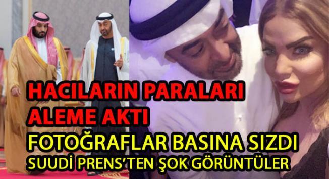 Suudi Arabistan Prensi Selman Alem Yaptı- Hacıların paraları aleme aktı