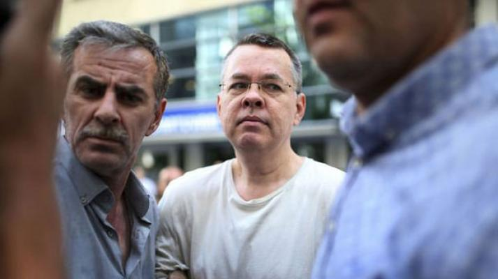 Türk Savcıdan Rahip Brunson'ın mahkumiyet kararına itiraz