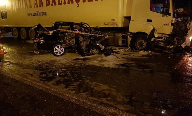 Zonguldak Çaycuma'da kaza yapan Uzman Çavuş hayatını kaybetti