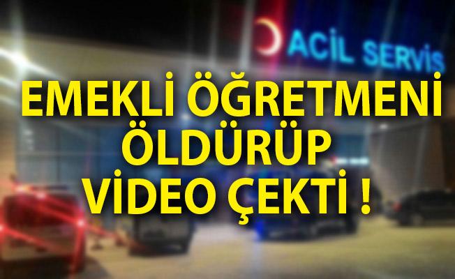 15 Yaşında Dehşet Saçtı Emekli Öğretmeni Öldürüp Video Çekti!