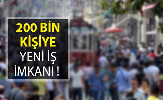 200 Bin Kişiye Yeni İş İmkanı! Cumhurbaşkanı Erdoğan Açıkladı