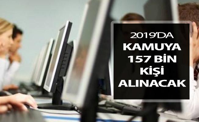 2019 Yılında 157 Bin Kişiye Memuriyet Hakkı Verilecek !