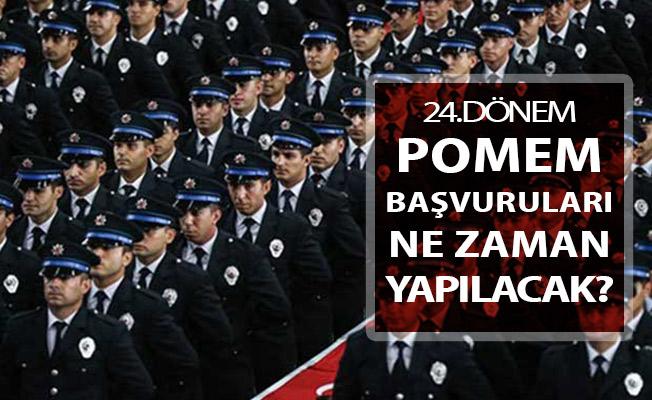 24. Dönem POMEM Başvuru Detayları ! 2019 Yılı Polis Alımı Ne Zaman Yapılacak?