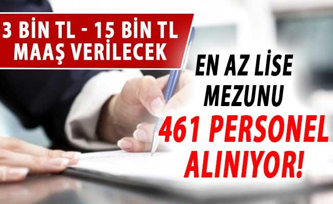 3 Bin TL İle 15 Bin TL Arasında Maaşla En Az Lise Mezunu 461 Kamu Personeli Alımı Yapılıyor (İSKİ Personel Alım İlanı)