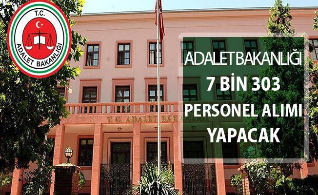 Adalet Bakanlığı 7 Bin 303 Kamu Personeli Alımı Yapacak ! İKM - Zabıt Katibi - Adliye Personeli (Genel Şartlar)
