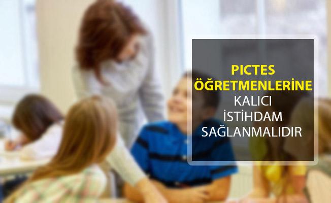 AES Genel Başkanı Mehmet Alper Öğretici: PICTES Öğretmenlerine Kalıcı İstihdam Sağlanmalıdır