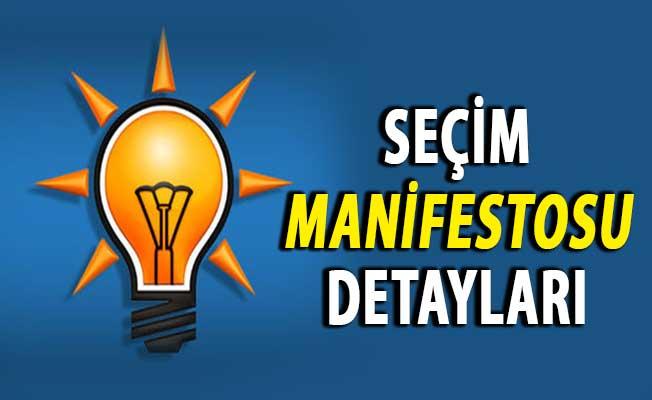 AK Parti'nin 10 Maddelik Yerel Seçim Manifestosunun Detayları Belli Oldu