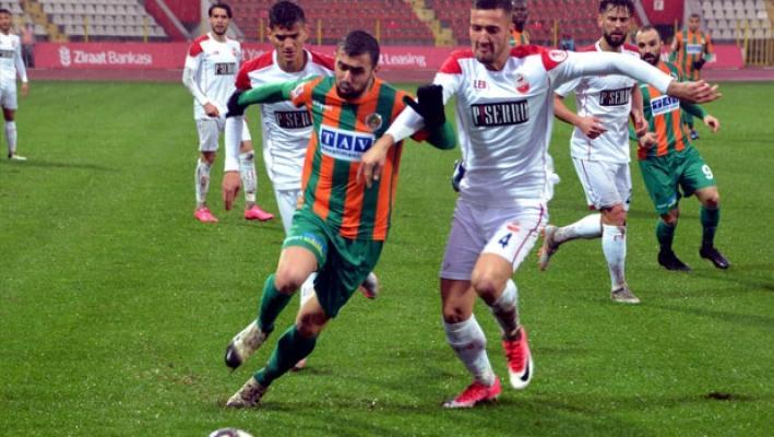 Alanyaspor, deplasmanda Kahramanmaraşspor'a yenildi