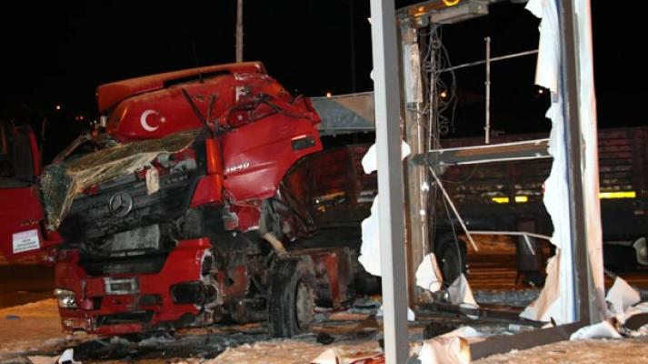 Ankara Çankaya'da feci TIR kazası