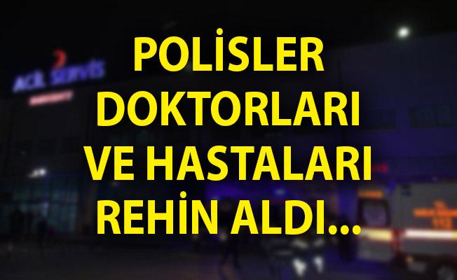 Ankara'da Rehine Krizi! Polisler, Doktorları ve Hastaları Rehin Aldı