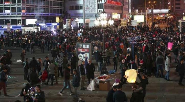 Ankara'da yılbaşı etkinlikleri nedeniyle bazı yollar araç trafiğine  kapatılacak