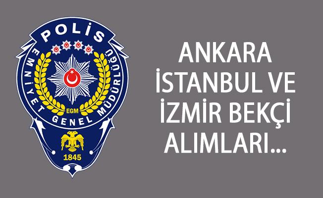 Ankara, İstanbul, İzmir Bekçi Alımları! 2018 - 2019 Bekçi Alımları - bekçilik şartları