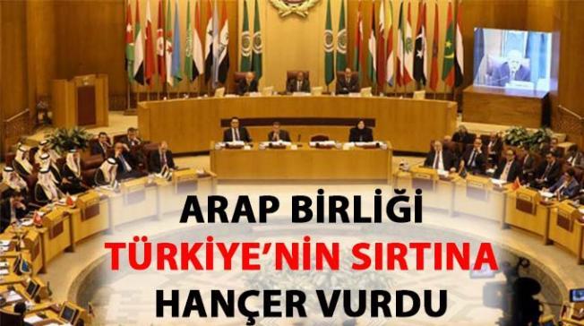 Arap Birliği, Türkiye hakkında skandal ifadeler kullandı