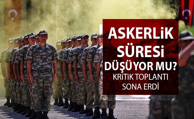 Askerlik Süresi Kısalacak Mı? Bakan Akar'ın Katıldığı Kritik Toplantı Sona Erdi!