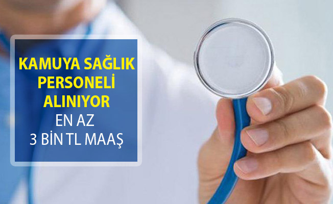 Atatürk Üniversitesi Sözleşmeli Sağlık Personeli Alım İlanı Yayımlandı (En Az 3 Bin TL Maaş)