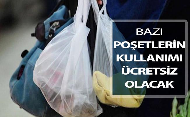 Bakan Kurum Poşetlerin Ücretsiz Olacağı Alışverişleri Açıkladı