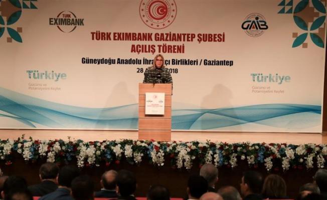 Bakan Pekcan, Gaziantep Eximbank şubesini açtı