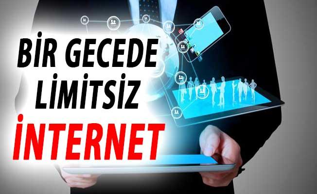 Bir Gecede Limitsiz İnternet Verilecek ! 10 Milyondan Fazla Abone Yararlanacak