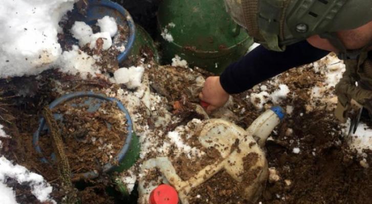 Bitlis'te 160 kilogram EYP ele geçirildi